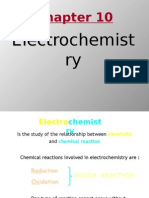 Matriculation Chemistry ( Electrochemistry )