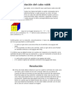 Resolucion Del Cubo Rubik
