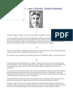 Alberto Masferrer - Leer y Escribir