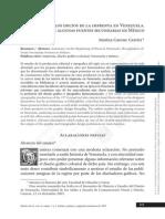 Resumen sobre los inicios de la imprenta en Venezuela