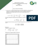 Problemas metodos numericos