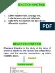 Matriculation Chemistry ( Reaction Kinetics ) part 1