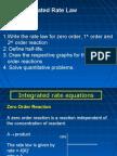 Matriculation Chemistry ( Reaction Kinetics ) part 2