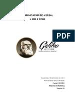 Comunicacion No Verbal Manuel Del Cid