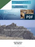 Principios Mecanicos de La Deformacion de Las Rocas - Copia