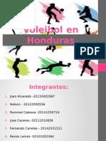 Voleibol en Honduras