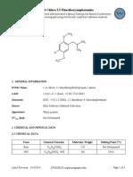 4 Chloro 2,5 Dimethoxyamphetamine