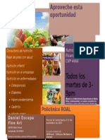 Publicidad Consultorio de Nutricion