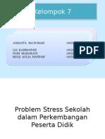 stres sekolah