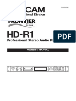 HD R1 Manual