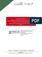 Carrasco, 2008. Investigacion en Efectividad y Mejora Escolar
