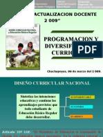 Programacion y Diversificacion