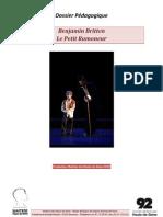 Dossier Pédagogique Pti Ram 2010