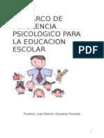 marco de referencia psicologico para la educacion escolar
