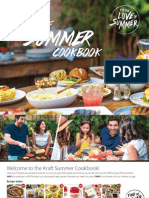 Kick Off Your Summer Cookbook