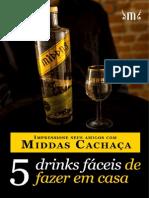 5 Drinks para fazer em casa