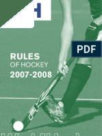 Buku Peraturan Hoki 2007 - 2008