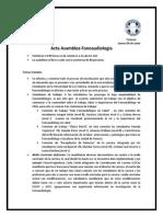 Acta Asamblea 04 Junio 2015 Fonoaudiologia