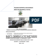 Tdr Mobiliario Inicial
