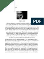 Steve Jobs Entrepreneurship Assignment