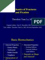 Biomechanics of Fractures and Fixation