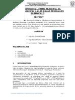 Paper de La Visita Al Camal, Botadero y Aguas Residuales