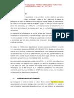 Determinacion de Los Factores Optimos Para Proseguri Con La Perforacion Exploratoria