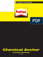 Chemical Anchor Technical Handbook 072008