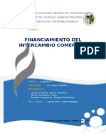 Financiamiento del intercambio comercial