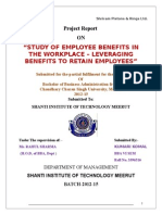 A Study on Employee Benefit welfare scheme an Organization Sriram pistion.doc