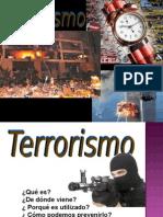 Seguridad Privada - Terrorismo