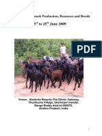 Report of Livestock Training CBM1