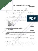 Subiecte(Cls)v 2007