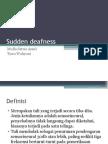 Sudden Deafness