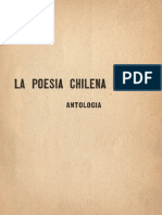 La Poesia Chilena Moderna 1888 1931