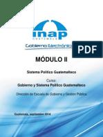 Modulo II Sistema Politico Guatemalteco