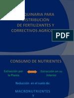 Maquinaria Fertilizacion