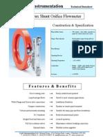 Deltaflux Bypass Flowmeter