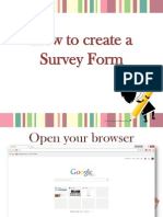 How to Use Google Docs to Create a Free Online Survey