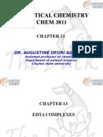 Chapter 13 3811 EDTA