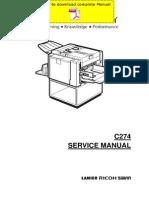 RICOH DX-2330 DX-2430 Service Manual Pages