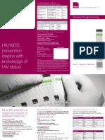 Alere Determine HIV 1 2 Brochure