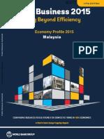 World Bank - Doing Business 2015 Malaysia