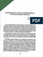 Traducción y Paleta de Colores, Claudine Lécrivain
