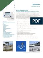 WTW SensorNet 2020 XT - Datasheet