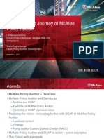 Narayanasamy - Efficiency in Security Audits - The Standards Journey of McAfee Policy Auditor