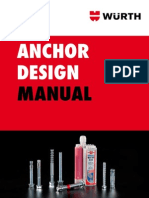 Anchor Design Manual