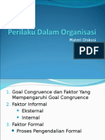 Diskusi Perilaku Dalam Organisasi, 7 Kel