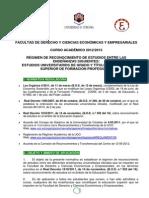 Normativa Reconocimiento de Creditos de Ciclos Formativos de Grado Superior Web