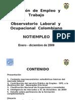 Dirección de Empleo y Trabajo Observatorio Laboral